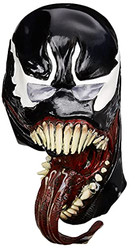 Rubie's unisex adult Marvel Universe Deluxe Venom Latex Costume Mask, As Shown, One Size US