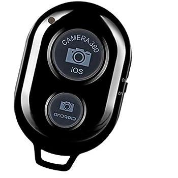 Alftek Bluetooth sans Fil multim/édia Bouton t/él/écommande Selfie Voiture de Musique pour Android iOS