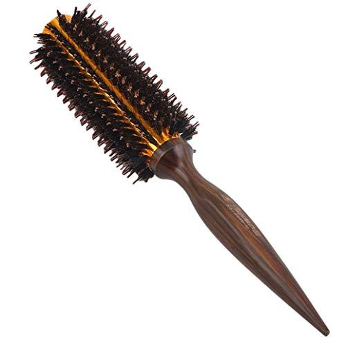 JKLBNM Brosse à Cheveux Ronde Coup Barrel Sec Séchage Boar Ronde pour Cheveux Brosse à Cheveux séchage Curling Styling,M