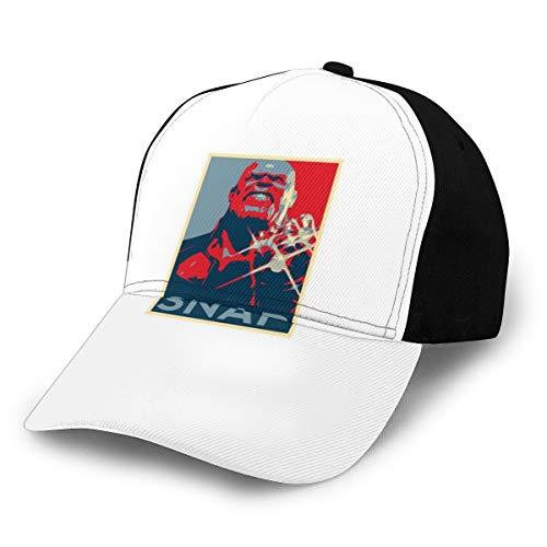 Gorra de béisbol de los Vengadores de Marvel Comics de Thanos Snap...