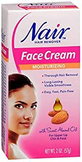 Nair Hair Remover Face Cream 2 Ounce (59ml) (2 Pack)