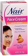 nair hair removal cream face
