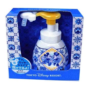Foaming Hand Soap Tokyo Disney Resort Mickey and Minnie pattern sou new design
