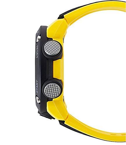Casio Mens Analogue-Digital Quartz Watch with Resin Strap GA-2000-1A9ER