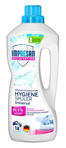 Impresan Hygiene-Spüler Universal: Wäsche-Desinfektion – Desinfektionsspüler gegen Bakterien, Pilze, Viren - 1 x 1,5L
