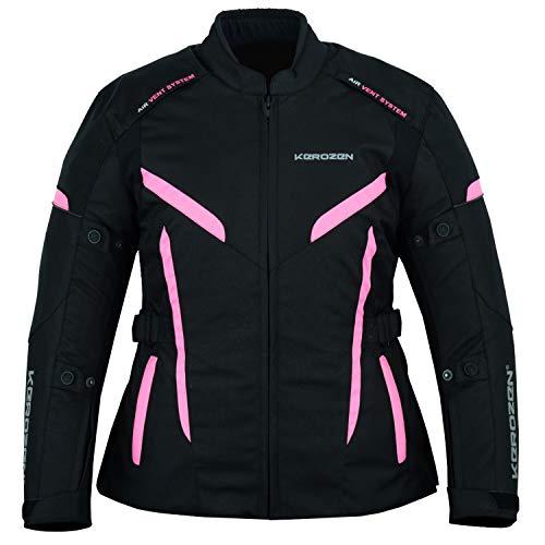 Kerozen Motorcycle Jacket for Women, Armored, High Protection Biker Jacket...