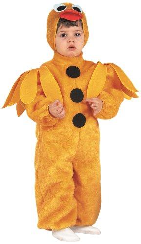 Rio - 103245/tg02 - Costume Enfant - Le Petit Poussin En Peluche - 3-4 Ans