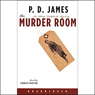 The Murder Room audiobook cover art