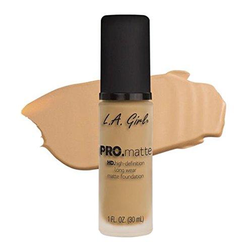 LA Girl HD Pro. Matte Foundation, Beige, 30 ml