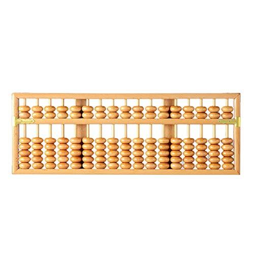 Findema | Remaches de ábaco de Madera Chino Diseño Pulido General Durable...
