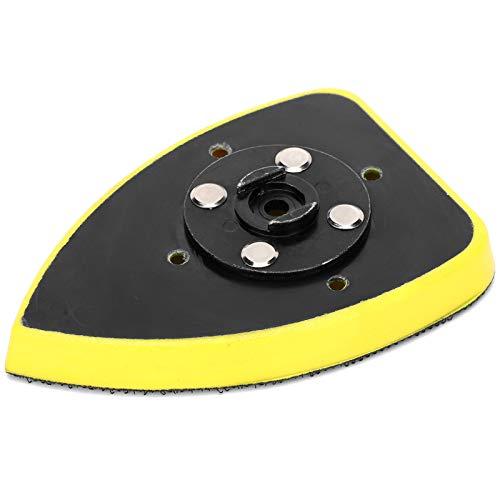 Accesorio triangular de la máquina de lijar del cojín de la lijadora para moler