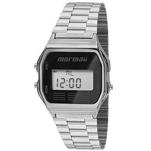 Relógio digital unissex vintage mormaii mojh02aa3p Relógio digital mormaii mojh02aa3p