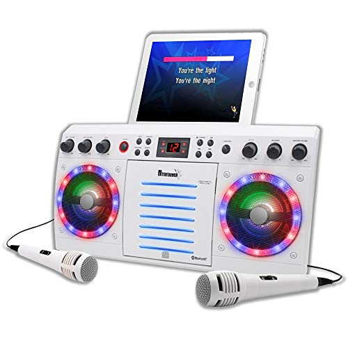 Beatbox Karaoke Machine CDG/CD+G. Built in Disco Lights. Includes 240 Song...