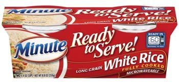 Minute Ready to Serve Long Grain White Rice 2  44 Oz Cups Pack of 4