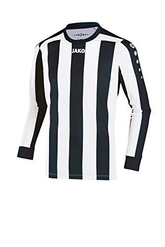JAKO Herren Fußballtrikots LA Trikot Inter, mehrfarbig (Schwarz/Weiß), S, 4362