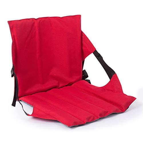 Ledph Chaise de Camping Camping Slacker Chaise Multifonction Portable léger Rapide Chiffon Sec Oxford pour 1 Personne Pêche Plage Camping Voyage Automne/Automne Printemps Noir Fuchsia/Pliable