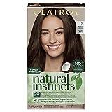 Clairol Natural Instincts Semi-Permanent, 5 Medium Brown, Hazelnut, 1 Count