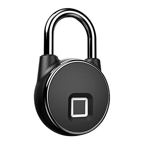 Smart Lock Keyless vingerafdrukslot IP66 Waterdicht Diefstalbeveiliging Hangslot Deur Bagageslot, Geen Bluetooth