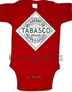 Louisiana Tabasco Hot Sauce Baby Shirt