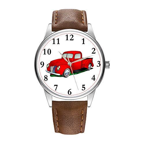 Reloj de pulsera para hombre de cuarzo marrón Cortex para hombres famoso...