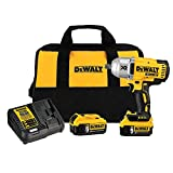 DEWALT 20V MAX XR Cordless Impact Wrench Kit with...