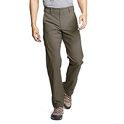 Eddie Bauer Men's Horizon Guide Chino Pants, Slate Green Regular 32/32