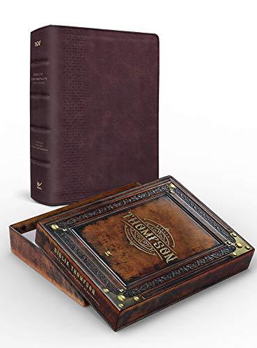 Bíblia Thompson Aec Letra Grande Colecionador Marrom