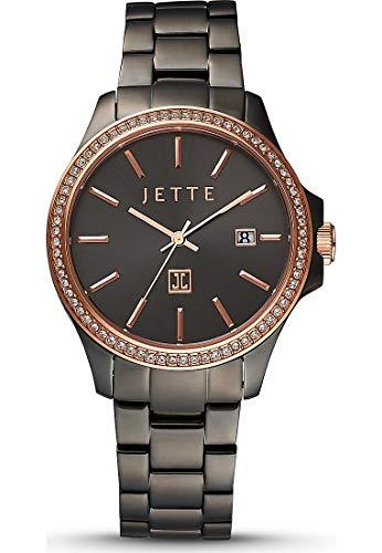 JETTE Time Damen-Uhren Analog Quarz One Size Edelstahl/Pvd Beschichtet 87814629