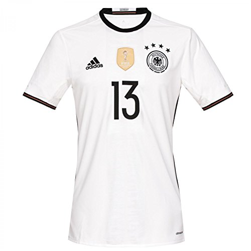 adidas Kinder Trikot DFB Home Jersey Youth Müller, White, 176