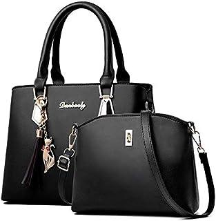 اونور حقيبة للنساء-اسود - مجموعة حقائب اليد