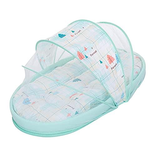 Tragbares Babybett Mit Moskitonetz | Neugeborenes Baby Reisebett | Zusammenklappbares Babybett | Schlafkapsel | Kinderbett Sleeper Crib Für 0-24 Monate Baby