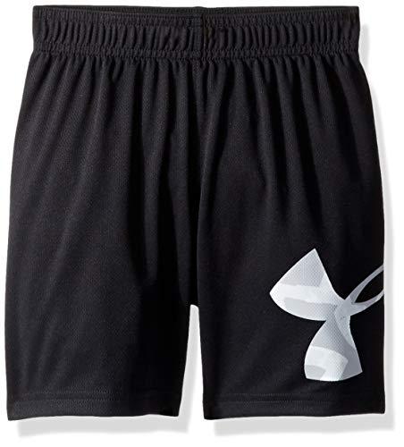 Under Armour Little Striker - Pantalón Corto para niño, Color Negro S19 7