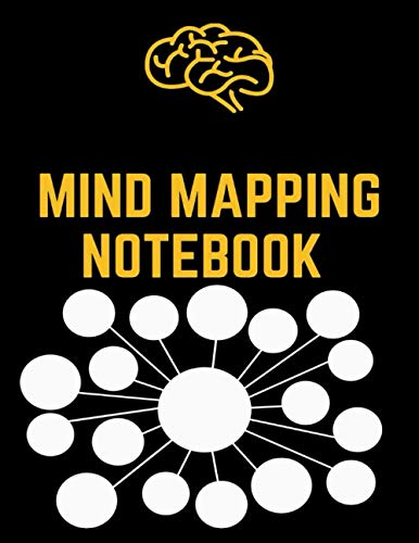Mind Mapping Notebook: Mind Mapping Workbook   Mind Map Templates for Improved Memory and Effective Note-taking