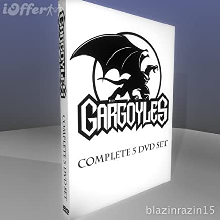 DISNEY'S GARGOYLES-THE COMPLETE SERIES- 5 DVD SET