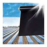 Película Plástica Plateada-negra Del Árbol Frutal De La Huerta, Película De Mantillo Reflectante Tela Para Control De Maleza Promoción De La Fotosíntesis De Las Plantas
