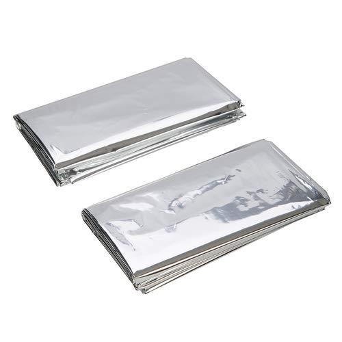 Silverline 226306 Emergency Foil Blankets - Set of 2