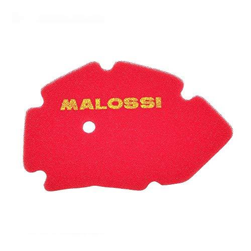 Motodak Maxiscooter Malossi schuimstof-luchtfilter voor Gilera Runner 2t 2002+2004, DNA 2000+2004 rood