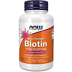 Biotin Vitamin - losing your hair while dieting