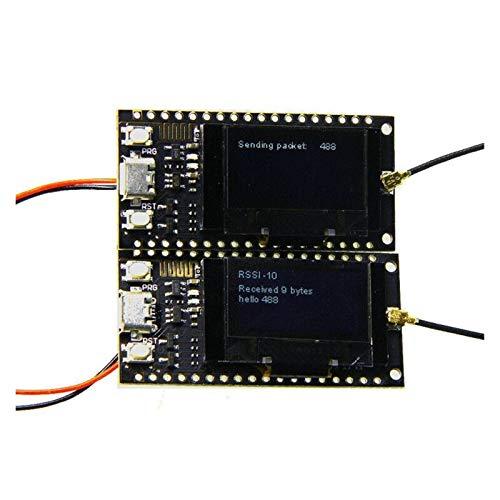 XIAOFANG Fangxia Store 2 Teile/sätze Lora SX1278 ESP32 0.96 OLED 32MT BIT (4 MB) 433 MHz für Arduino