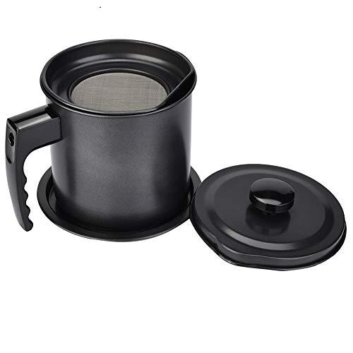Distributeur d'huile, Delaman huile peut Pot récipient bouteille distributeur avec passoire cuisine cuisine ménage outil 1.3L