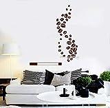 fancjj Sticker Wohnzimmer Hintergrund Dekor Paredes 42x52cm wandaufkleber Blumen küche...