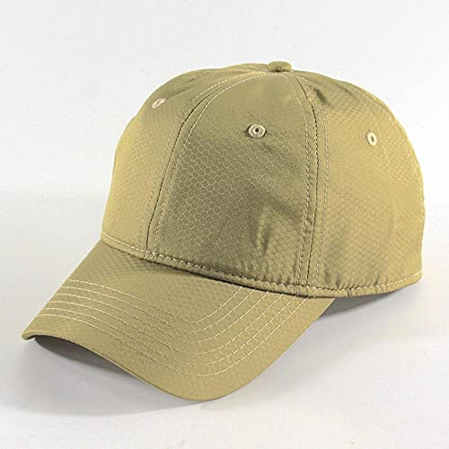 DELLA Baseball Cap Men Snapback Solid Color Baseball Cap Quick Dry Caps for Men Women Outdoor Sun Hats-Khaki_L(60-65CM)