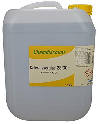 10Liter (ca. 12,5 kg) Kaliwasserglas 28/30°, versandkostenfrei