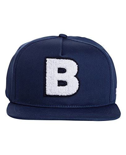Bench Herren BAMW002354 Canvas B Baseball Cap, Blau (Dark Navy Blue Ny013), One Size (Herstellergröße: -)
