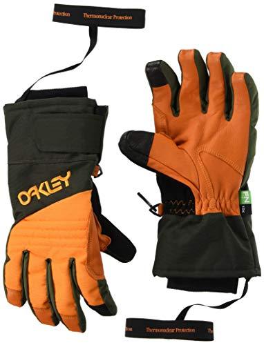 Oakley Herren Snow Glove TNP Schnee Handschuh, Dunkle Bürste, Orange, XL