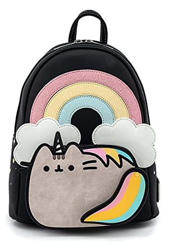 Loungefly Pusheen Rainbow Unicorn Womens Double Strap Shoulder Bag Purs