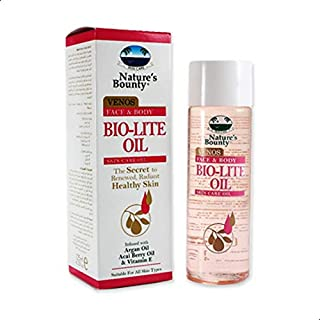 Natures Bounty Bounty Biolite Oil for Face and Body -125 ml