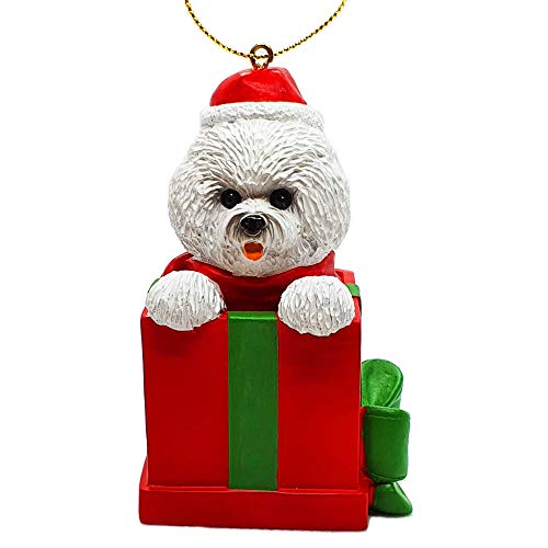 Bichon Frise Dog Holiday Christmas Tree Ornament Xmas Decoration