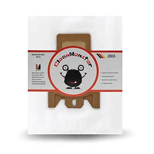 20x Cleanmonster Staubsaugerbeutel für Miele S8340, Compact C1, C2, Complete C3 Serie, Jazz Plus, Tango, Tango Plus, 30th Anniversary Sverige, Select Cat & Dog, Beutel komp. zu Swirl M40, M49, M50