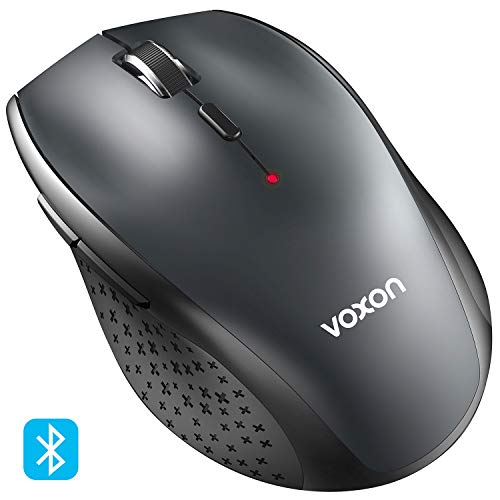 Preisvergleich Produktbild VOXON 3000 DPI Bluetooth Maus Kabellose Maus Wireless Bluetooth Mouse für PC Mac,  5 verstellbare DPI Level